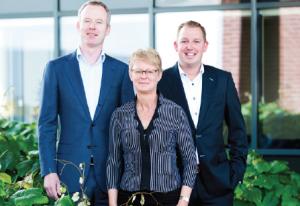 V.l.n.r.: Joris Snelten, Janetta Wanders en Ralph Zopfi