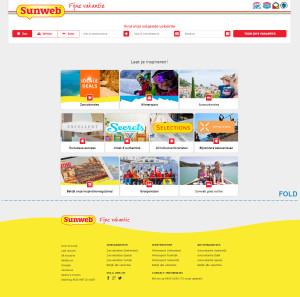 Heb je wel eens goed gekeken naar de homepage van grote online webshops? Je ziet vooral knoppen en links om je te verleiden naar een bestelpagina te klikken.