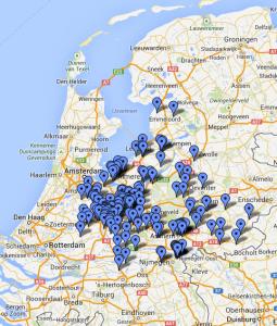 Regio Utrecht, Flevoland, Gelderland
